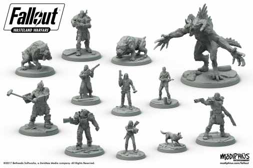 Fallout: Wasteland Warfare. (Foto: Modiphius)