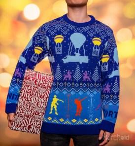 Fortnite Christmas Jumper. (Foto: Merchoid)
