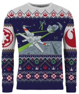 Star Wars Weihnachtspullover. (Foto: Merchoid)
