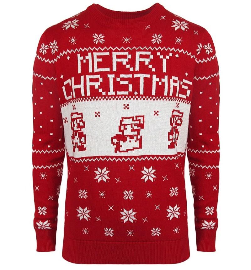 Mario zu Weihnachten. (Foto: Merchoid)