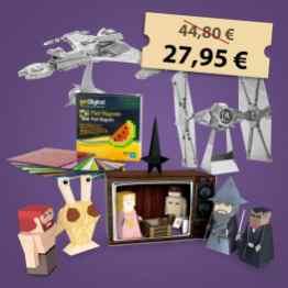 Die Bastel-Geschenkebox. (Foto: GetDigital)