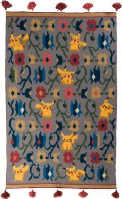 Pokémon Teppiche. (Foto: Olk Manufactory)
