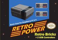 LEGO NES mit Controllern. (Foto: Retro Power)