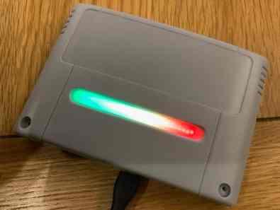Eine Variante mit LEDs. (Foto: Hackster.io)