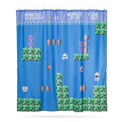 Mario-Duschvorhang. (Foto: ThinkGeek)