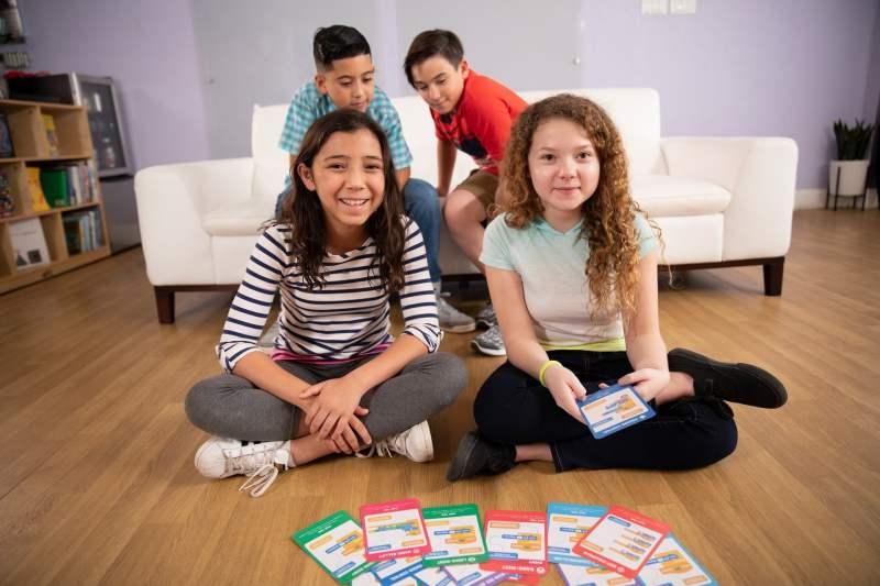 Die Karten helfen beim Coden. (Foto: GameBender)