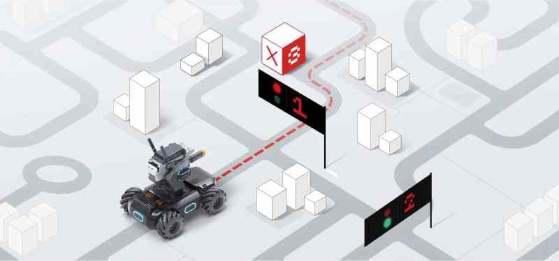 Komplexe Befehle versteht der DJI RoboMaster S1. (Foto: DJI)
