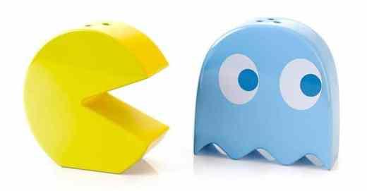 Salz- und Pfefferstreuer von Pac-Man. (Foto: Balvi)