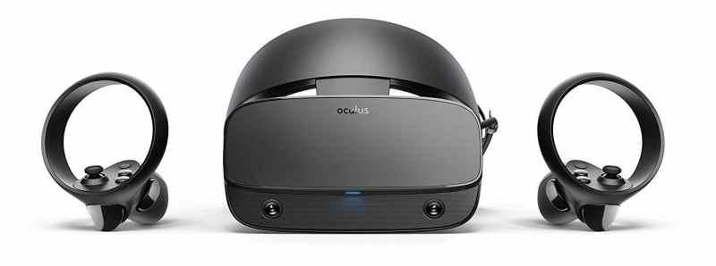 Das ist die VR-Brille. (Foto: Facebook Technologies)
