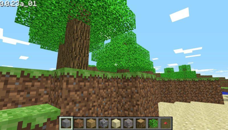 Schön ist Minecraft Classic nicht mehr. (Foto: Screenshot)