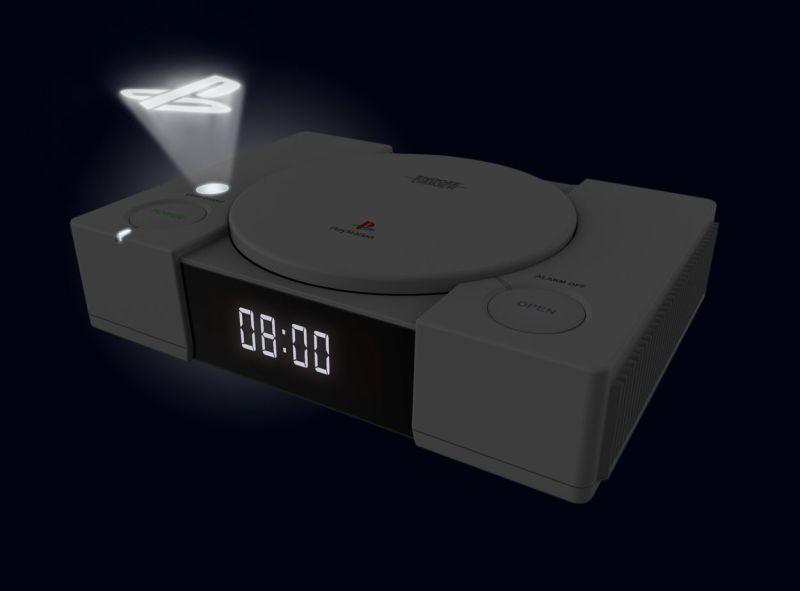 Nachts leuchtet das PlayStation Logo. (Foto: Merchoid)