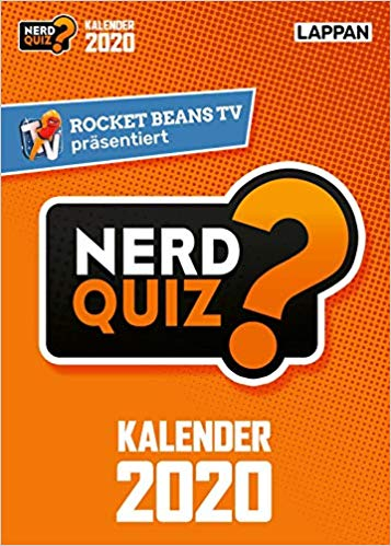 Nerd-Kalender 2020. (Foto: Rocket Beans)