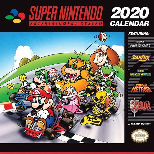 SNES Retro-Kalender 2020. (Foto: Nintendo)