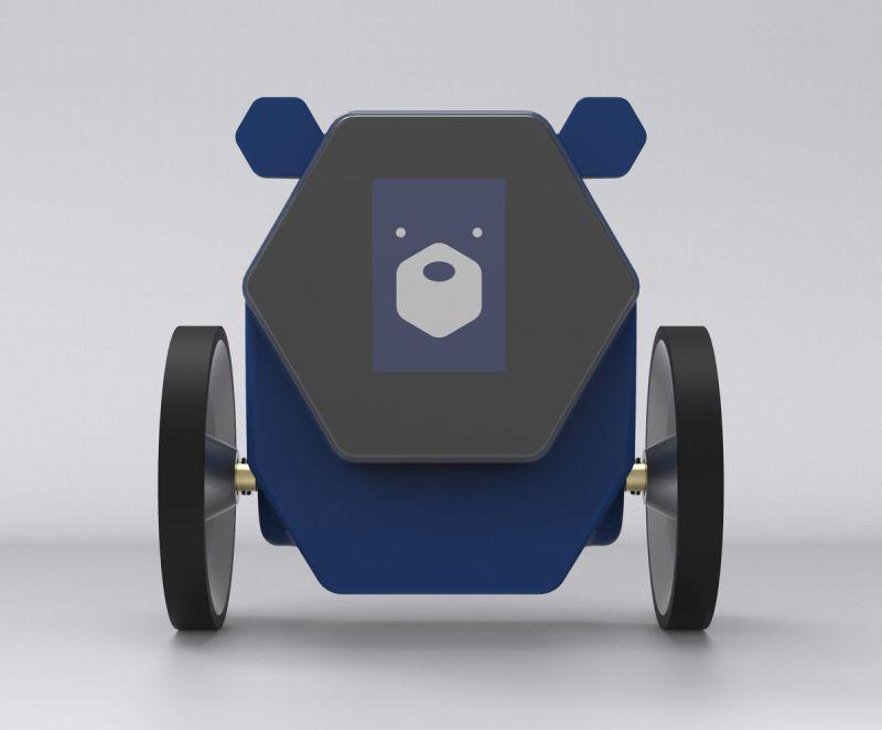 Das ist der Rollbot. (Foto: Charmin)