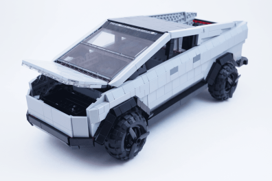 LEGO Cybertruck. (Foto: LEGO Ideas)
