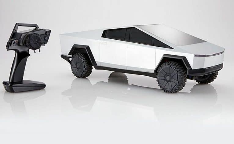 Der große Hot Wheels Cybertruck. (Foto: Mattel)