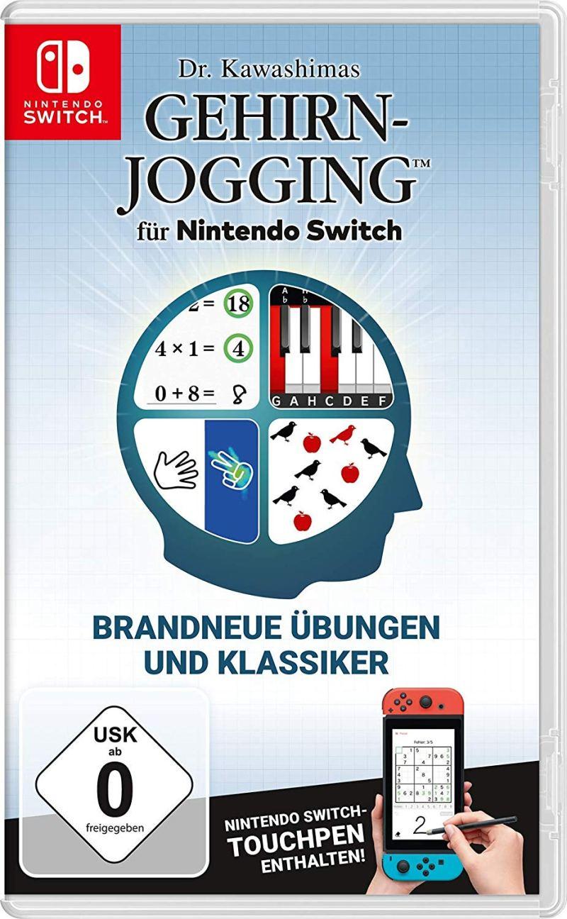 Mit Gehirn-Jogging fing damals alles an. Jetzt gibt es das Original auch für die Nintendo Switch. (Foto: Nintendo)