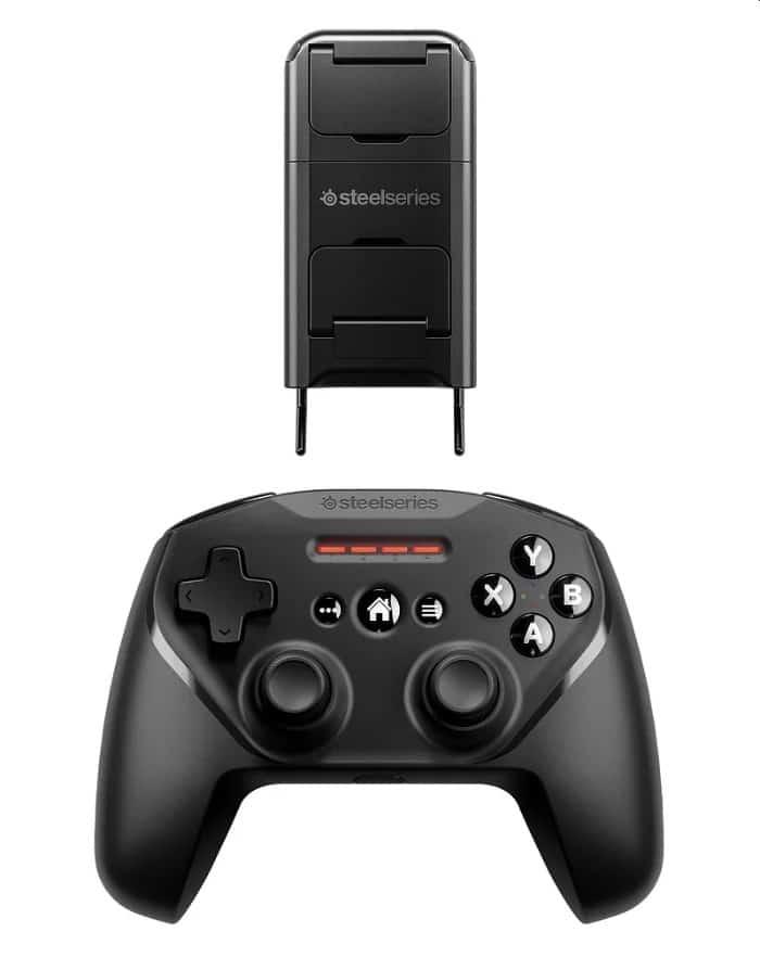Der neue Nimbus+ Controller ist ebenfalls hervorragend für Apple TV geeignet. (Foto: SteelSeries)