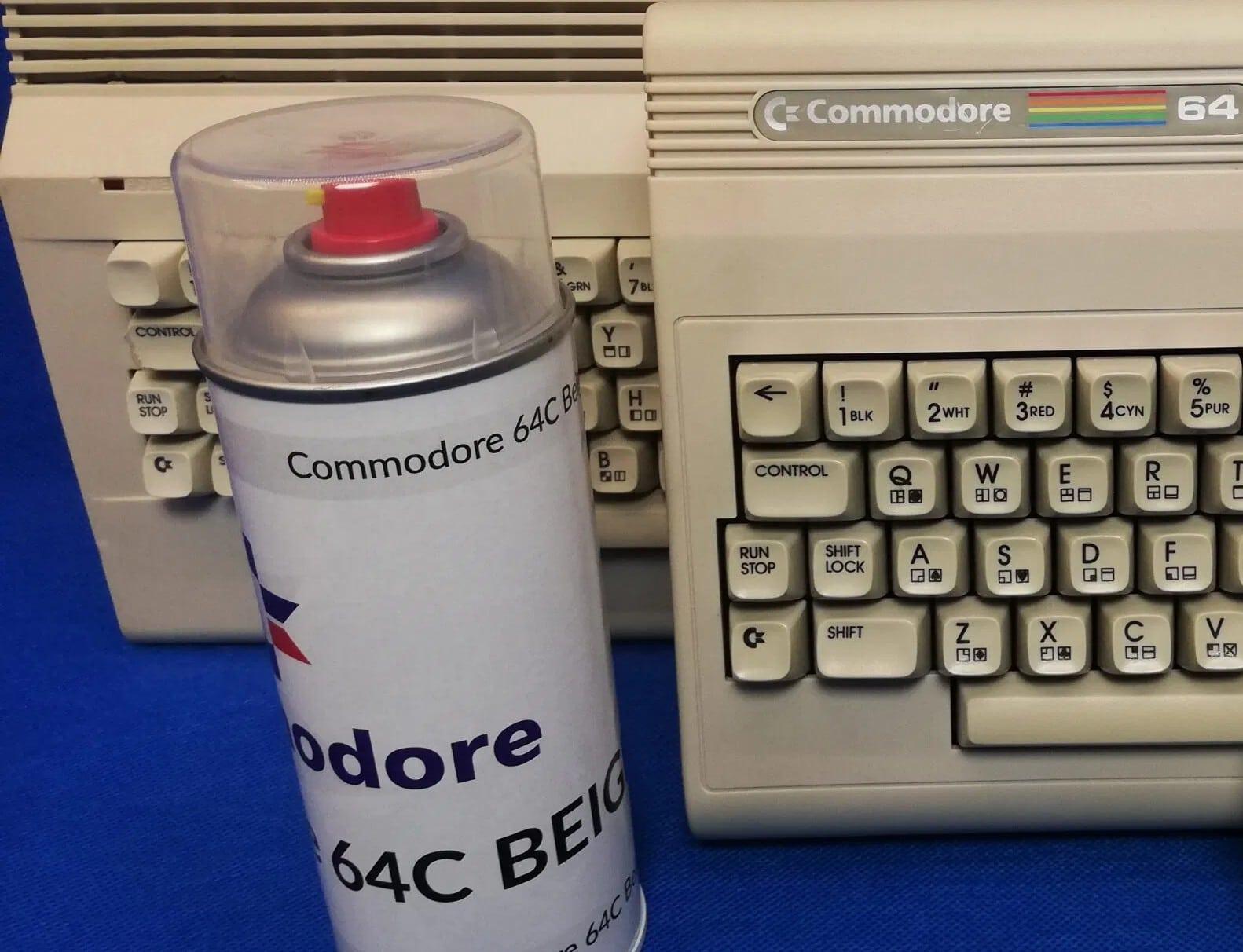 Die Farbe bringt Beige zu euch nach Hause - oder auf euren alten C64. (Foto: Retrohax)