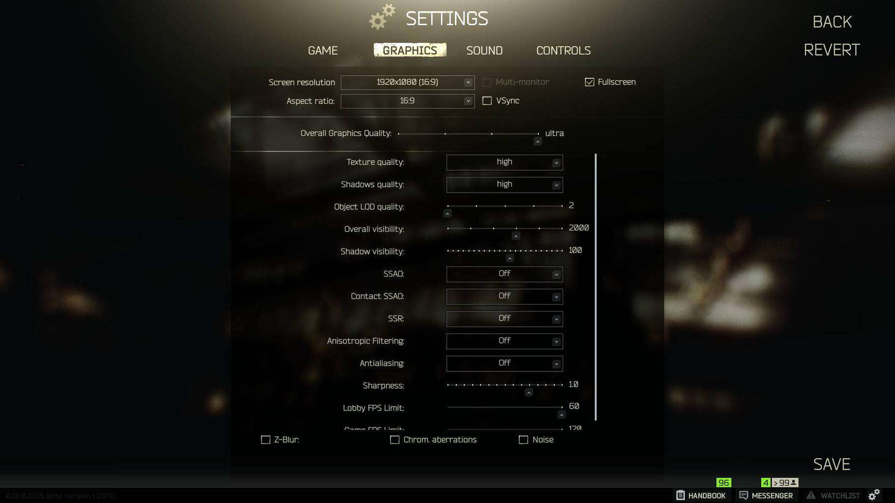 Best Escape From Tarkov Settings - All Settings Explained
