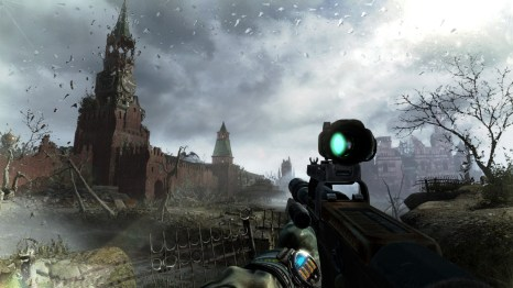 Metro: Last Light Environments: Red Square