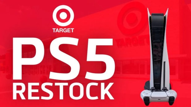 Target the upcoming PS5 restock soon