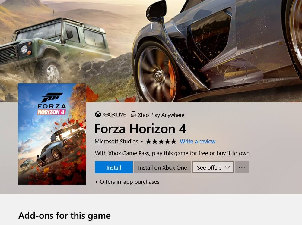 How to play Forza Horizon 4 early on Xbox One & PC - Gaming LYF