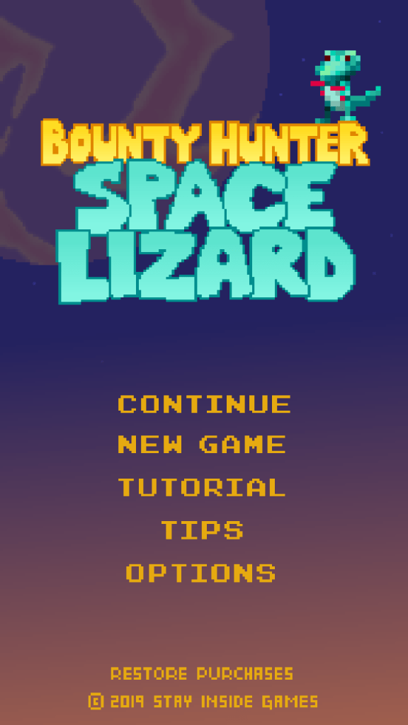 Bounty Hunter Space Lizard, indie games