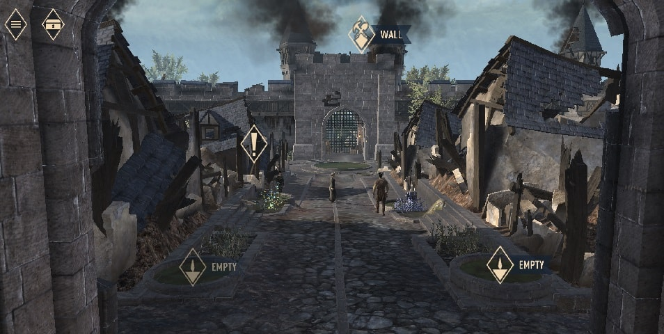 The Elder Scrolls Blades gameplay, The Elder Scrolls Blades mobile