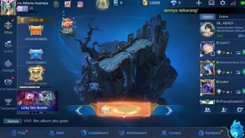 Reconstruced UI Mobile Legends 2.0