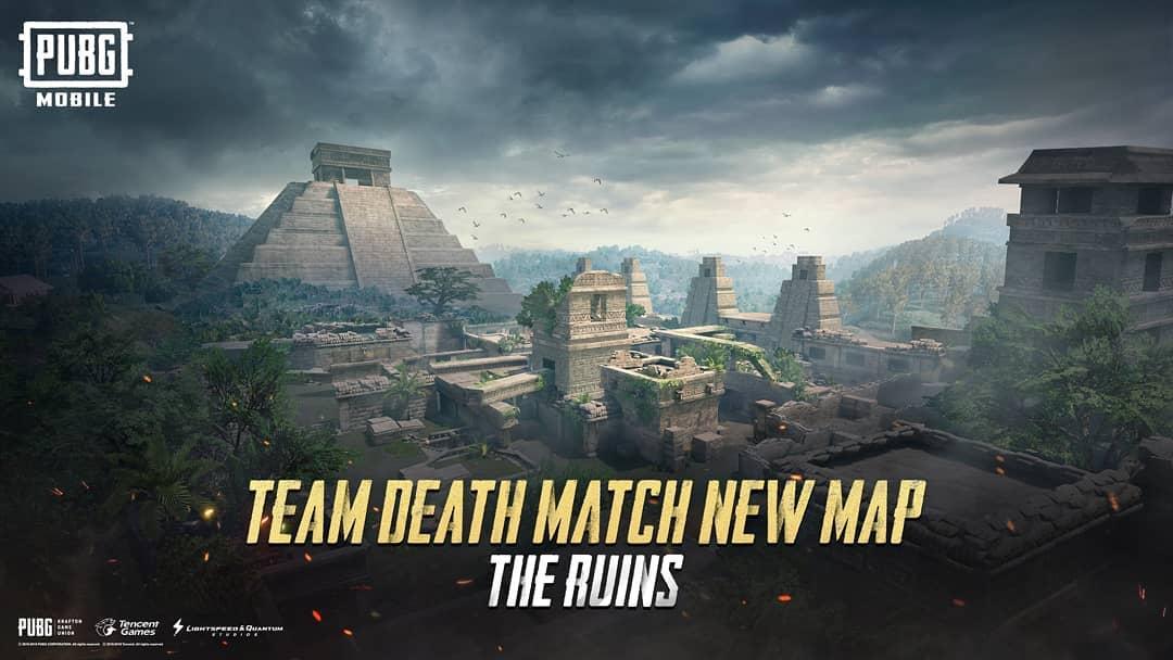 Kết quả hình ảnh cho TDM Mobile PUBG ruins