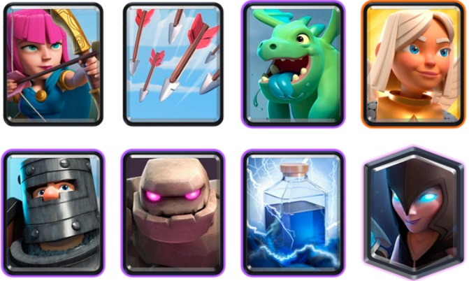 Best Golem Battle Healer Deck in Clash Royale, best clash royale decks