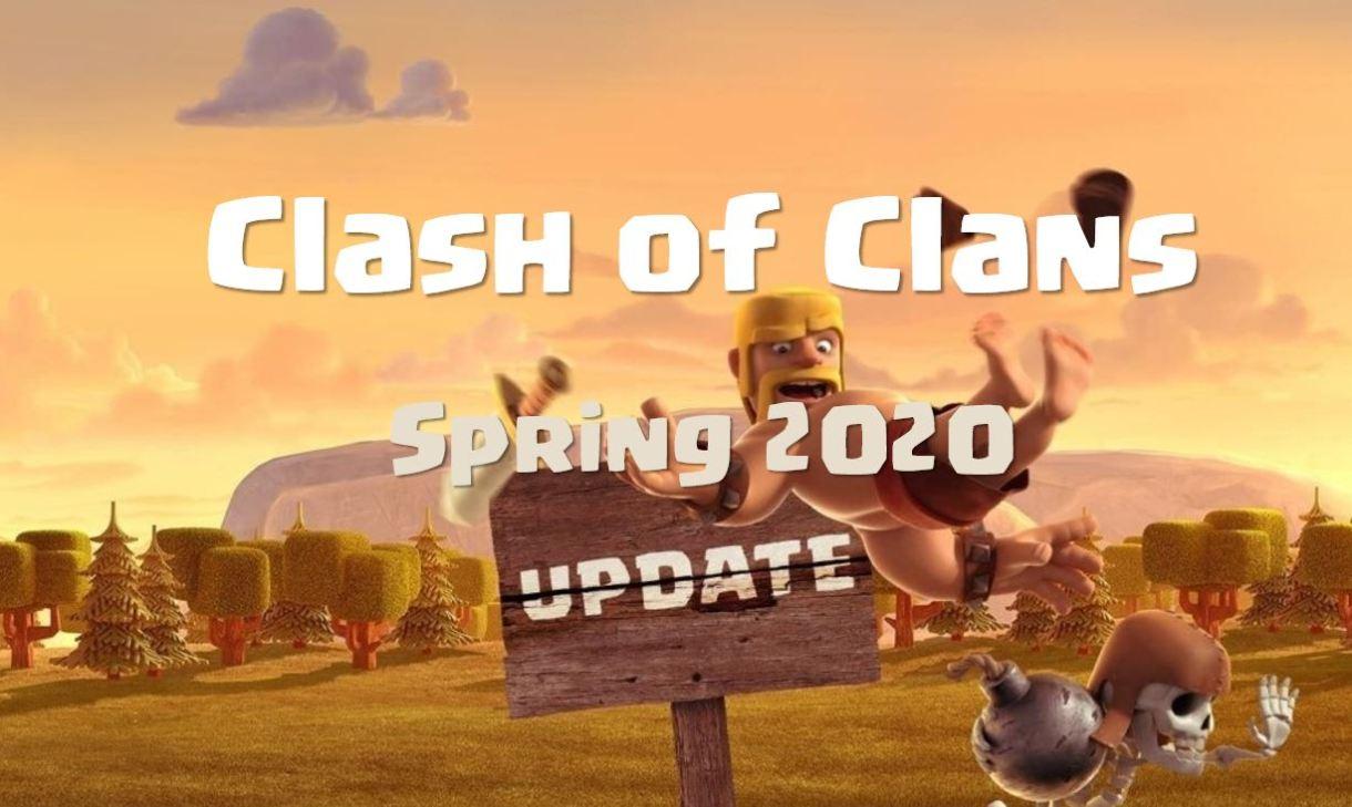 Clash of clans update 2020