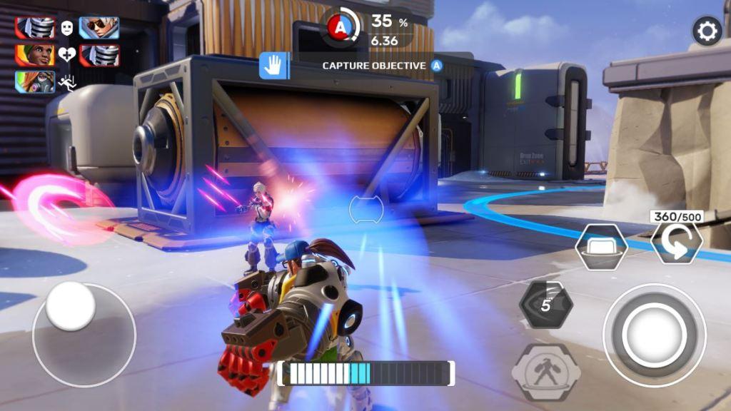 respawnable heroes gameplay