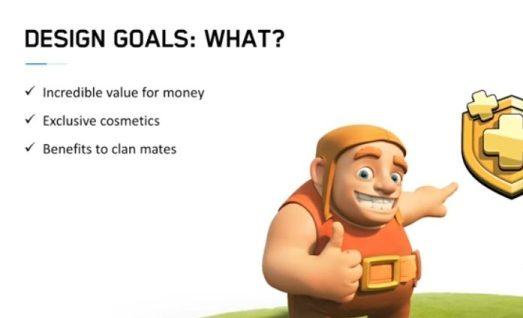 clash of clans design goals