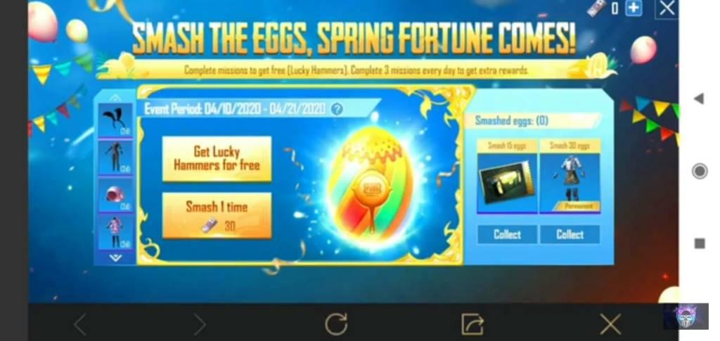 Lucky Eggs PUBG Mobile Summer Land