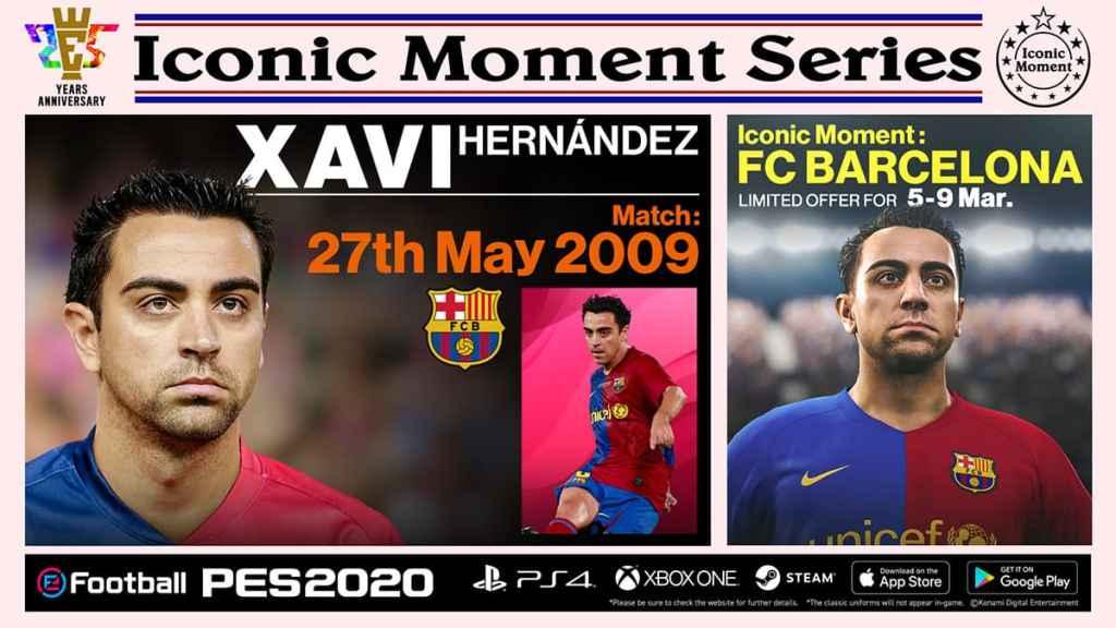 Barcelona Iconic Moments Xavi