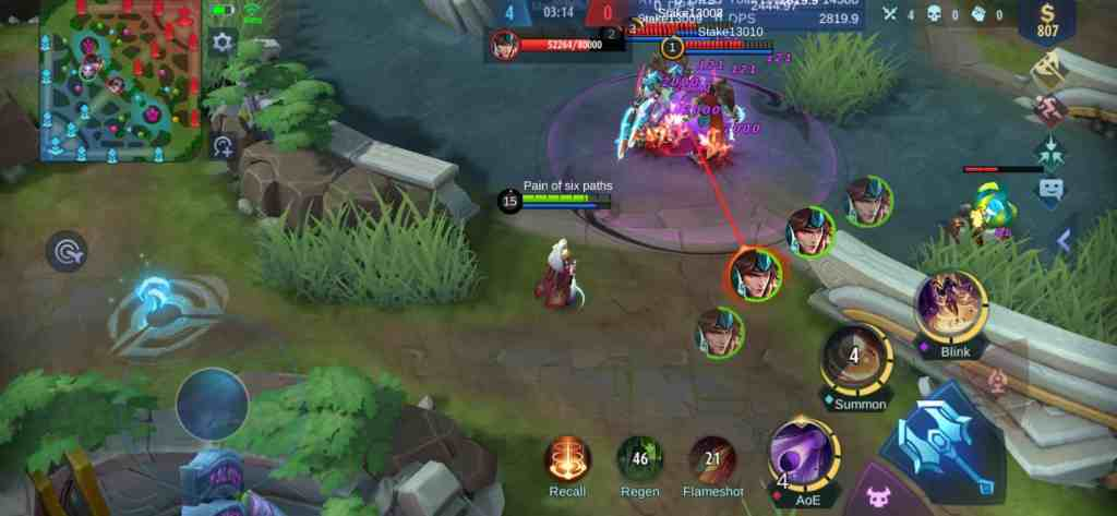Mobile Legends Luo Yi guide Rotation