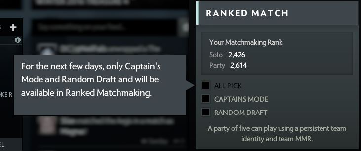 Matchmaking/Seasonal Rankings