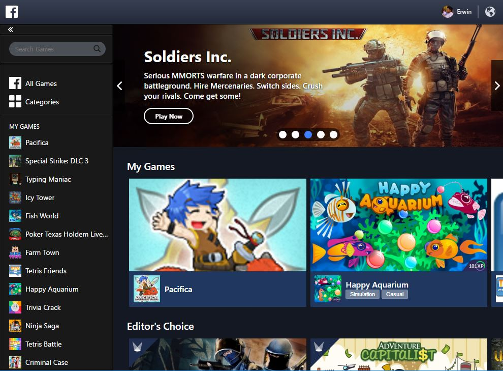 Download Facebook Gameroom – GamingPH com