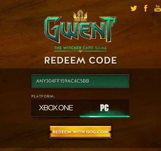 Gwent beta code giveaway