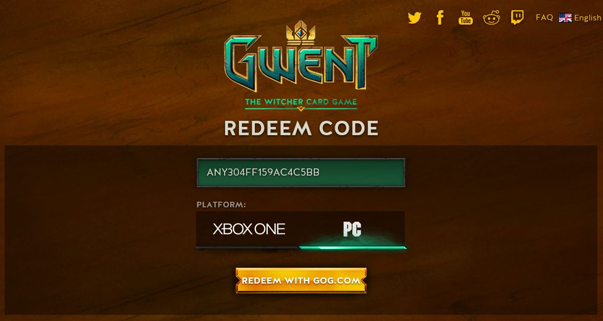 FREE Gwent The Witcher Card Game Beta Access Code – GamingPH com