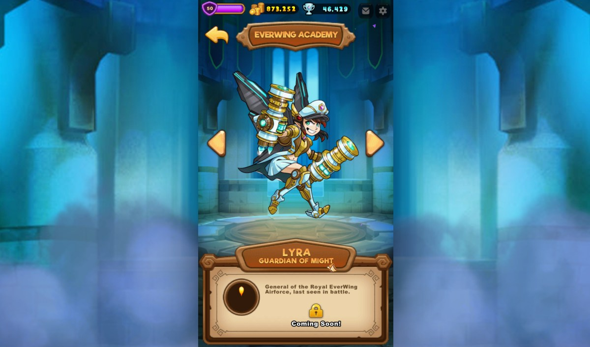 New Everwing Character Lyra The Guardian of Might