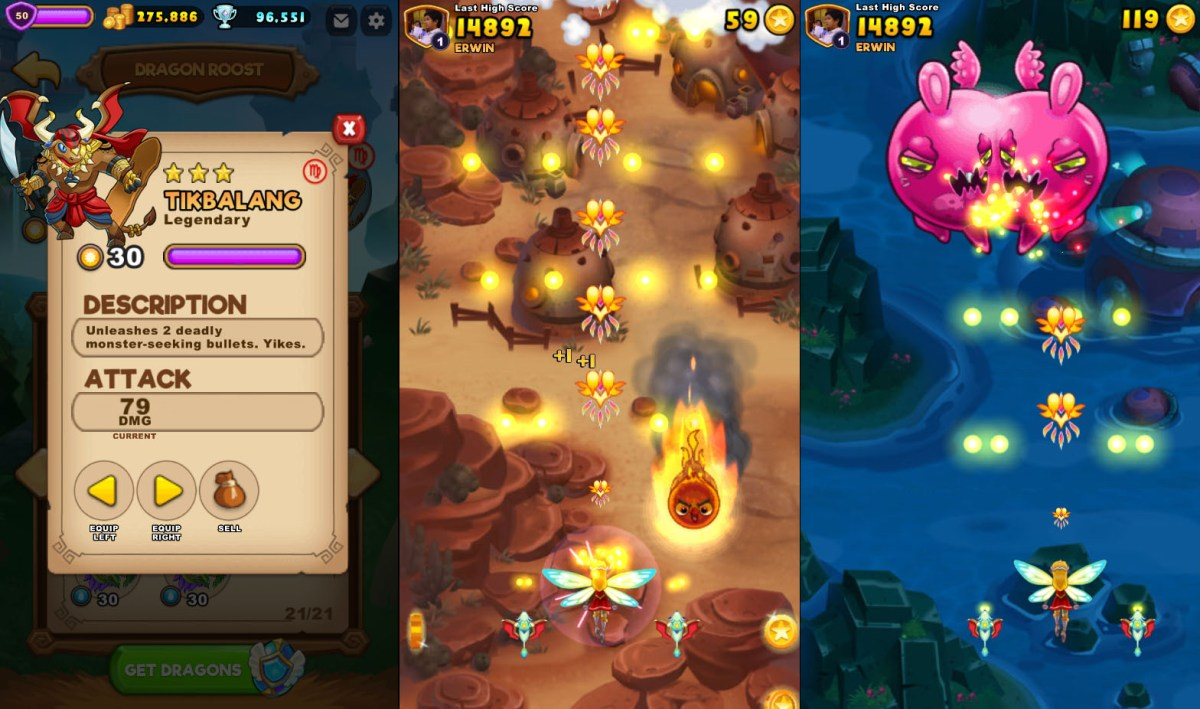 Everwing Sidekick New Legendary Dragon Tiki, Bintang and Tikbalang