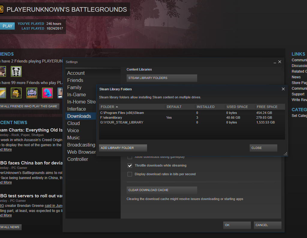 steam does not recognize installed game