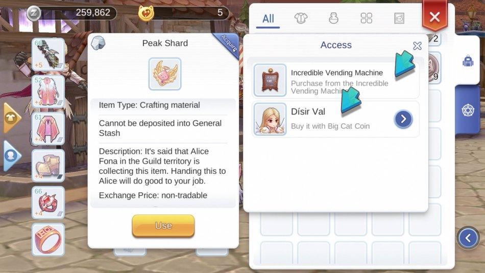 Where to Buy Peak Shard in Ragnarok M Eternal Love – GamingPH com