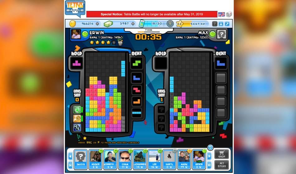 Tetris Battle is Closing Down on May 31 – GamingPH com