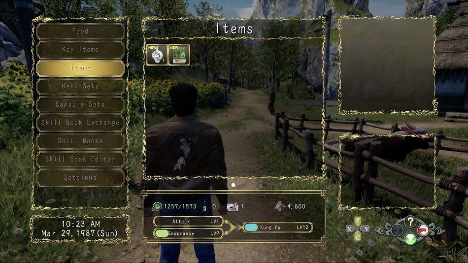 Blue Dragon Base Reward in Shenmue 3