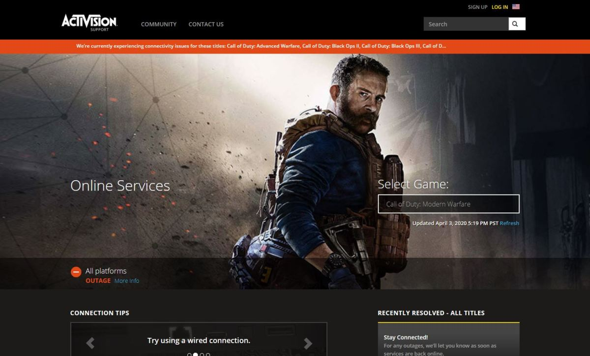 """Call of Duty Warzone – How to Fix """"Unable to Access Online Services"""" – GamingPH.com"""
