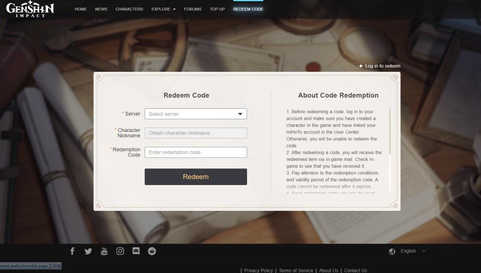 How To Redeem Codes On Genshin Impact Gamingph Com